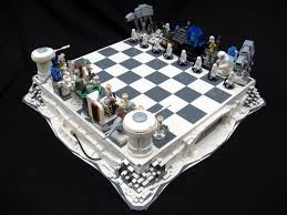star wars chess sets lego star wars chess sets are swankier than vader s vinyl underpants