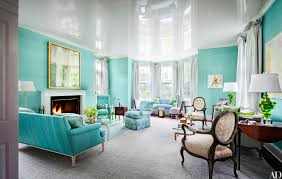 blue livingroom 33 jewel tone paint inspiration photos architectural digest