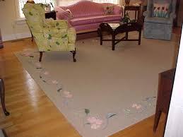 custom hand painted sisal rugs painted sisal area rugs
