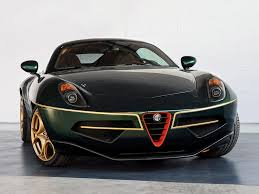 alfa romeo disco volante in green automotive99 com