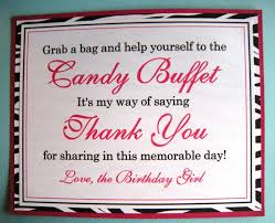 types of candy for a candy buffet 8x10 flat candy buffet