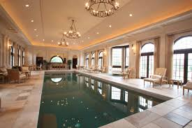 luxury residential indoor pool room inground installation in with