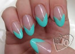 mno simple french pointy nails