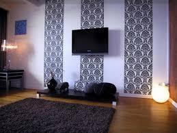 Wohnzimmer Tapezieren Haus Renovierung Mit Modernem Innenarchitektur Geräumiges