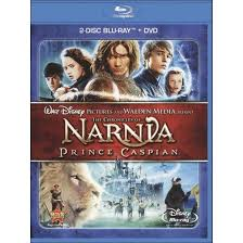 chronicles narnia prince caspian 2 discs blu ray dvd