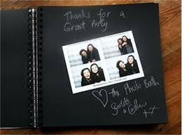 photo album black pages cover vintage hessian photobooth picture album pages for