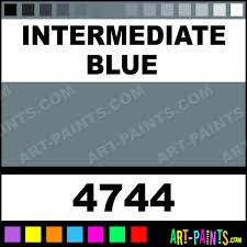 intermediate blue artist acrylic paints 4744 intermediate blue