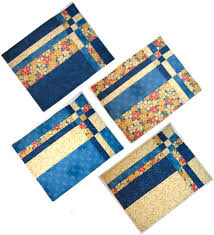 take four placemats placemat patterns placemat and quarters