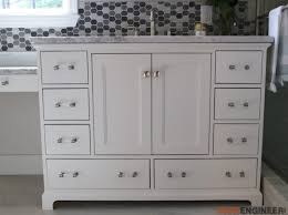How To Build A Bathroom Vanity 48in Bathroom Vanity Rogue Engineer
