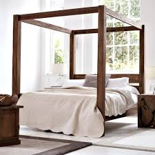 Four Post Canopy Bed Frame Canopy Bed Poles Best Four Poster Beds Ideas On Bedroom Intended
