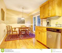 simple kitchen and dining room area stock images image 23525184