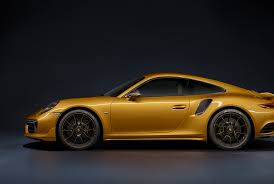 gold porsche 911 porsche just made the 911 turbo s more exclusive and gold