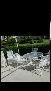 Fixing Patio Chairs Patio Set Table With 4 Chairs In Great Condition Lounge Chairs