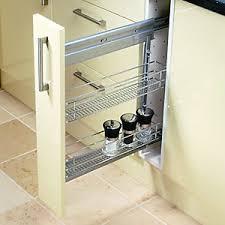Kitchen Storage Solutions Kitchen Accessories Wickescouk - Slide out kitchen cabinets
