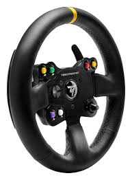 amazon com thrustmaster tm leather 28 gt wheel add on video games