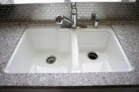 kohler cast iron farmhouse sink kohler cast iron undermount kitchen sink best buy