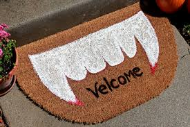 halloween project make a spooky welcome mat