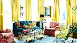 blue and yellow curtains u2013 teawing co