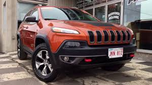 jeep suv 2015 2015 jeep cherokee trailhawk back up camera heated seats suv