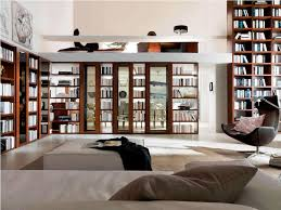 Glass Bookcases With Doors by Beautiful Glass Door Bookcase For Modern Style Home Design By John
