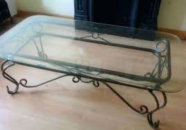 wrought iron coffee table with glass top wrought iron and glass coffee table french wrought iron side table