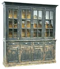 display china cabinets furniture black distressed cabinets contemporary rustic china cabinet display
