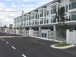 bangi taman aman permai sg tangkas 3 storey house rm706000