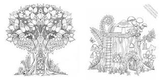 coloring book enchanted forest an inky quest coloring book by johanna basford