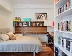Versatile Home Offices That Double As Gorgeous Guest Rooms - Small home office space design ideas