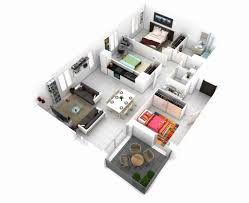home floor plans 3d one bedroom house plan 3d luxury brilliant ideas 40 more 1 bedroom