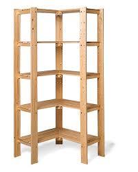 Corner Bookcase Unit Swedish Wood Shelving Williams Sonoma