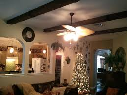 living rooms with beams home