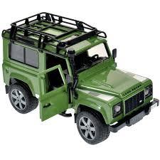 land rover bruder игровой внедорожник land rover defender 1 16 02 590 bruder купить