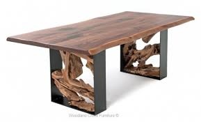 Living Edge Dining Table Contemporary Dining Tables Rustic Dining Tables Solid Wood Tables