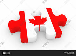 canadian flag puzzle piece flag image u0026 photo bigstock