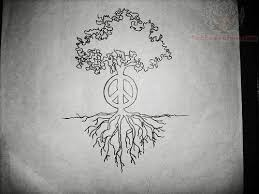 peace sign tree design tree designs tree
