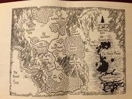 Stormwind Map The Map In My Original Warcraft Manual Rebrn Com