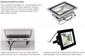 Led Indoor Flood Lights 4pcs Type Outdoor Led Flood Lights High Power For Tunnel Subway