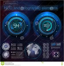 abstract future hud futuristic blue virtual graphic head up
