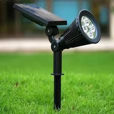 Spotlight Landscape Lighting Ausida Led Solar Spotlight Outdoor Waterproof Wall Light
