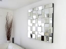 nice decoration mirrored wall art appealing home decoration unique