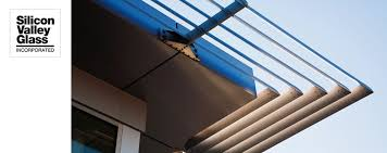 Modern Awnings Silicon Valley Glass Metal Awnings
