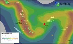 Earthquake Map Usgs M U003d7 0 Earthquake Off Of Fiji Might Have Triggered A M U003d5 6