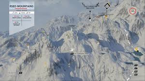 World Mountain Ranges Map by All Coordinates For Mountain Stories And Drop Zones Steep