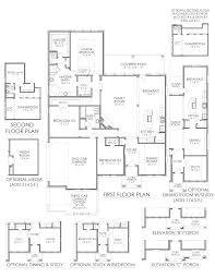the magnolia se westpark new home floor plan keller tx