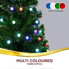 lights tree 130pc led light fibre optic multi