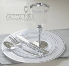plates for wedding wedding party disposable plastic plates and cutlery wine cups w