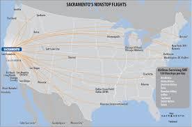 Chicago O Hare Airport Map by More Flights U0026 Award Winning Food At Sacramento International Airport