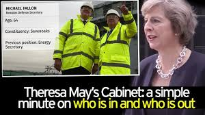 What Role Does The Cabinet Play In Government Who Is In Theresa May U0027s New Cabinet Full Line Up After Tory Prime