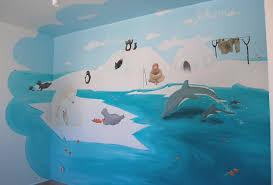 dessin mural chambre fille une chambre d enfant polaire atelier mur mur 06 69 62 38 06